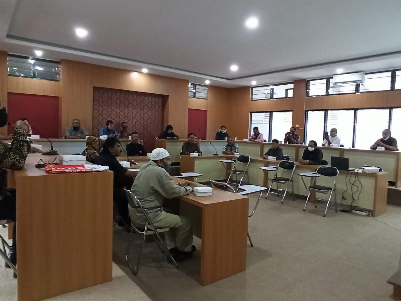 Kelas Literasi Pustakawan  Lingkungan Universitas Mataram Dalam Rangka Peningkatan Kompetensi Di Masa Pandemi Covid-19